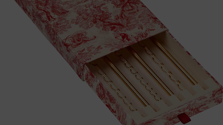 0ad7fa21e6 ディオールがホームコレクション「トワル ドゥ ジュイ」発売、約2万円の ...