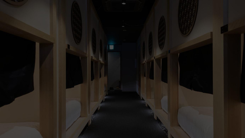 「ホテル・ゼン・トーキョー」内部