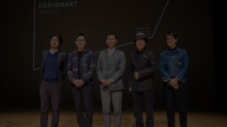 (左から)永田宙郷氏、青木昭夫氏、谷川公朗ディレクター、川上シュン氏、小池博史氏