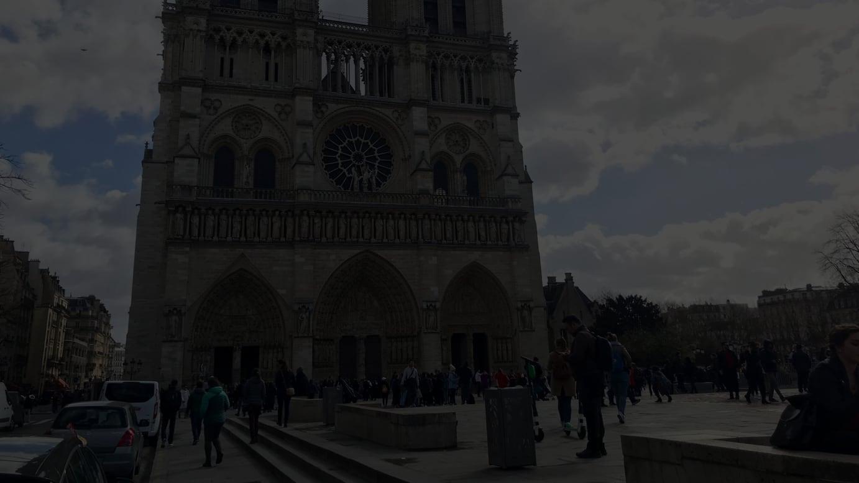 ノートルダム大聖堂(2019年3月撮影)