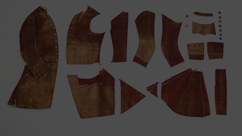 アビ衣服標本
