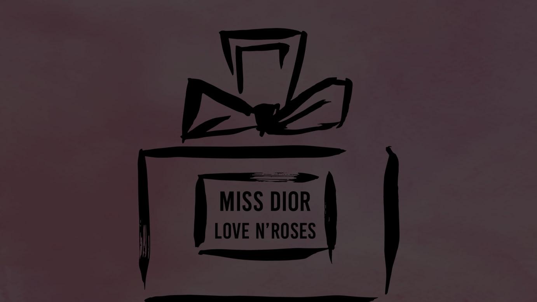MISS DIOR LOVE N'ROSES