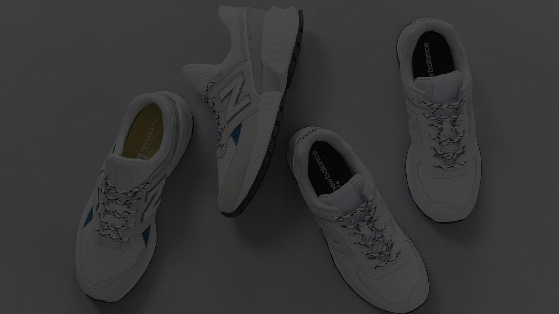 ef96ede529c5c ビューティ&ユースから「ニューバランス」トレイルランニングシューズがベースの新作登場、ホワイトでクリーンなデザインに