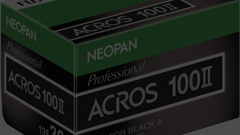 ネオパン100 ACROSII(35mmサイズ・ブローニーサイズ)