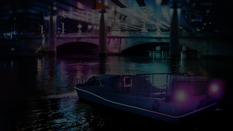 ナイトクルーズ「Nihonbashi Light Cruise」イメージ画像