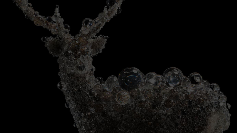 PixCell-Deer#522018h.2173 w.1896 d.1500mmmixed mediaCourtesy of SCAI THE BATHHOUSE photo: Nobutada OMOTE|SANDWICH