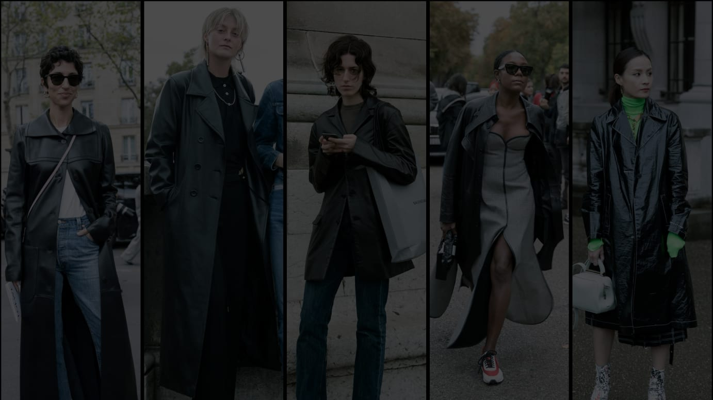 2020年春夏パリファッションウィーク来場者のスナップ
