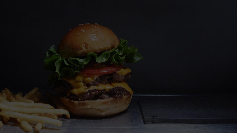 提供するハンバーガー