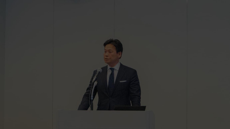 岩田功代表取締役社長(2019年2月撮影)