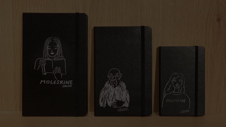 WALNUTのイラストを施したノートのイメージ