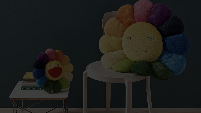 スペシャルエディションの「お花」クッション