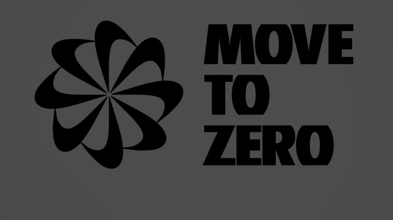「Move to Zero」ロゴ