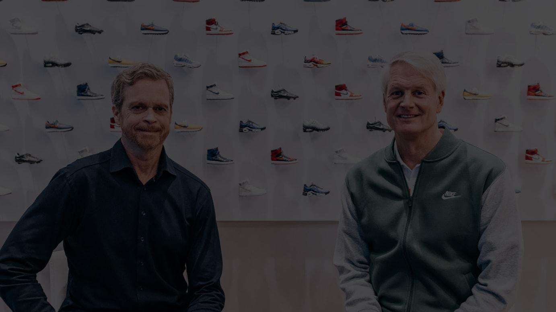 (左から)マーク・パーカー氏、ジョン・ドナホー氏