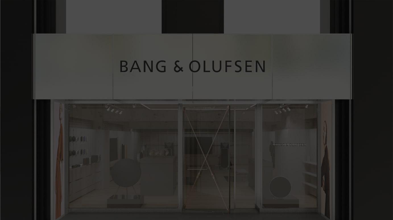 Bang & Olufsen GINZA 外観イメージ
