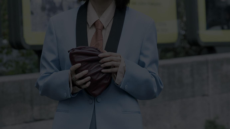 ボッテガ・ヴェネタの「ザ・ポーチ」バッグ