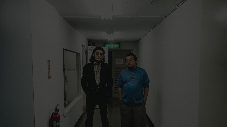 左)赤坂公三郎、右)川西遼平