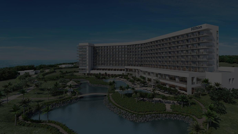「ヒルトン沖縄瀬底リゾート」外観イメージ