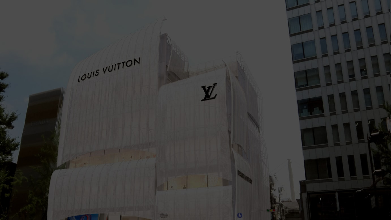 (C)Louis Vuittonルイ・ヴィトン メゾン 大阪御堂筋 外観イメージ
