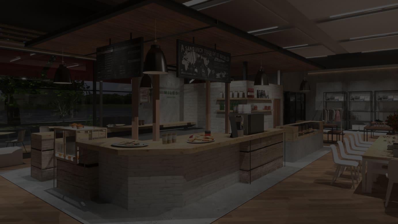 「MILES Honda Cafe」イメージ