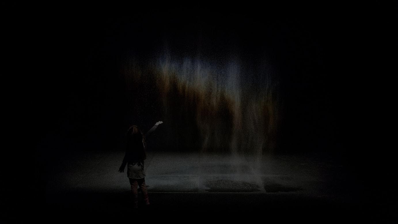 オラファー・エリアソン《ビューティー》1993年 Installation view: Moderna Museet, Stockholm 2015 Photo: Anders Sune Berg Courtesy of the artist; neugerriemschneider, Berlin; Tanya Bonakdar Gallery, New York / Los Angeles © 1993 Olafur Eliasson