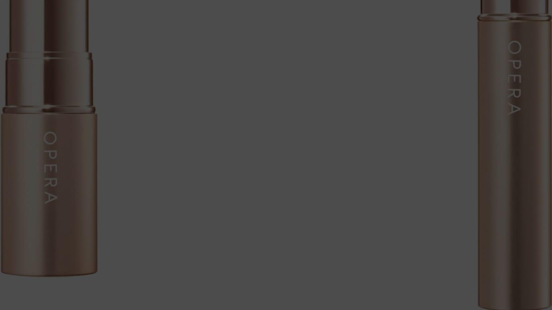 (左から)「リップティント N」(107 オレンジリリー)、「シアーリップカラー RN」(105 クリアライラック)