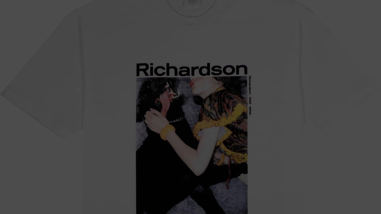 Richardson/Supreme Tee Model: Chloe Sevigny/Photographer: William Strobeck
