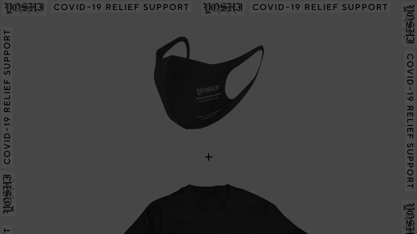 """""""COVID-19 RELIEF SUPPORT"""" TEE"""