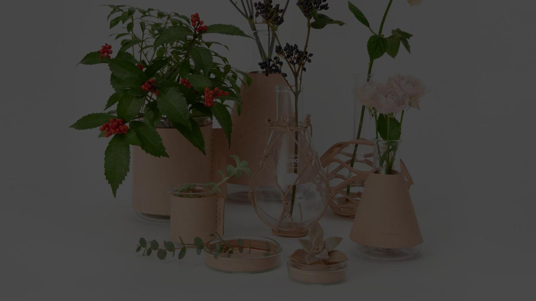 花瓶のコレクション