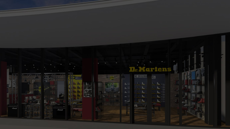DR.MARTENS WITH HARAJUKU 店 イメージ
