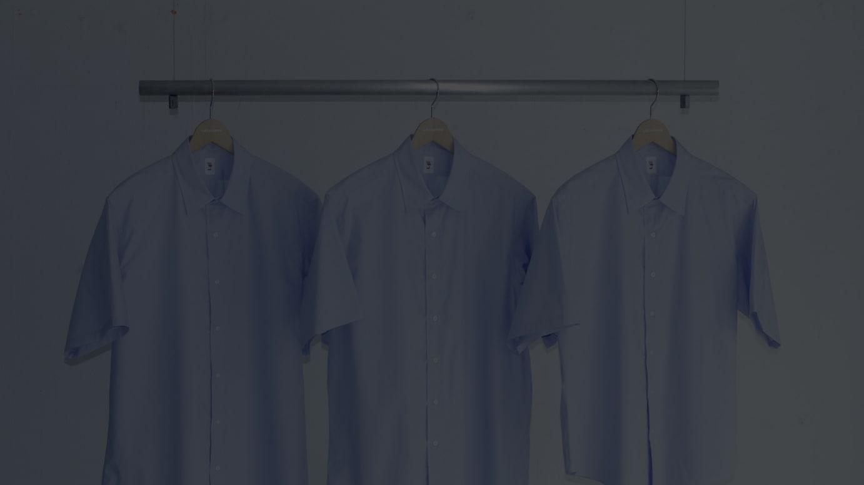 半袖の9サイズバランスシャツ