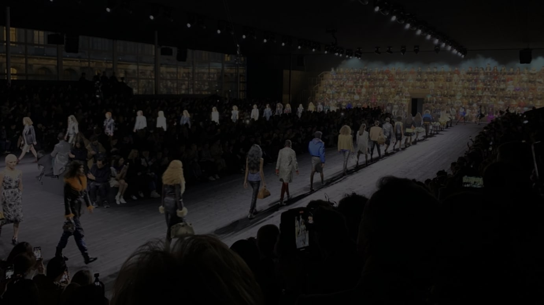 パリコレ最終日、LOUIS VUITTON 2020年秋冬コレクションのフィナーレ