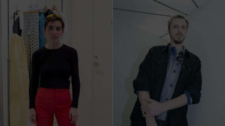 (左から)マリーン・セル、グレン・マーティンス