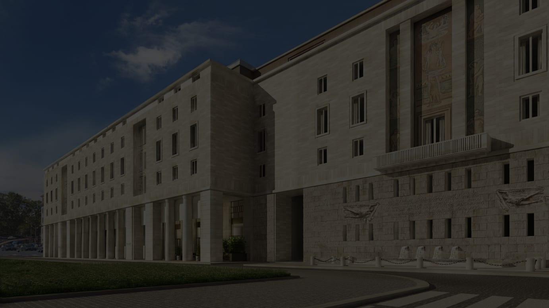 「ブルガリ ホテル ローマ」外観イメージ