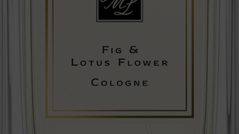 フィグ & ロータス フラワー コロン