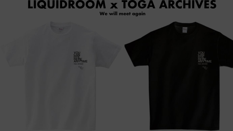 トーガとのコラボTシャツ