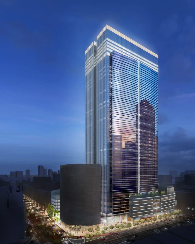 「ブルガリ ホテル 東京」外観完成予想イメージ