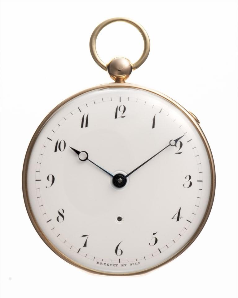 アブラアン=ルイ・ブレゲ Abraham-Louis Breguet  クオーター・リピーター懐中時計  1822年  写真:高橋和幸