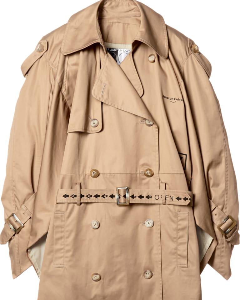 Amazon Box Trench Coat(5万4,000円)