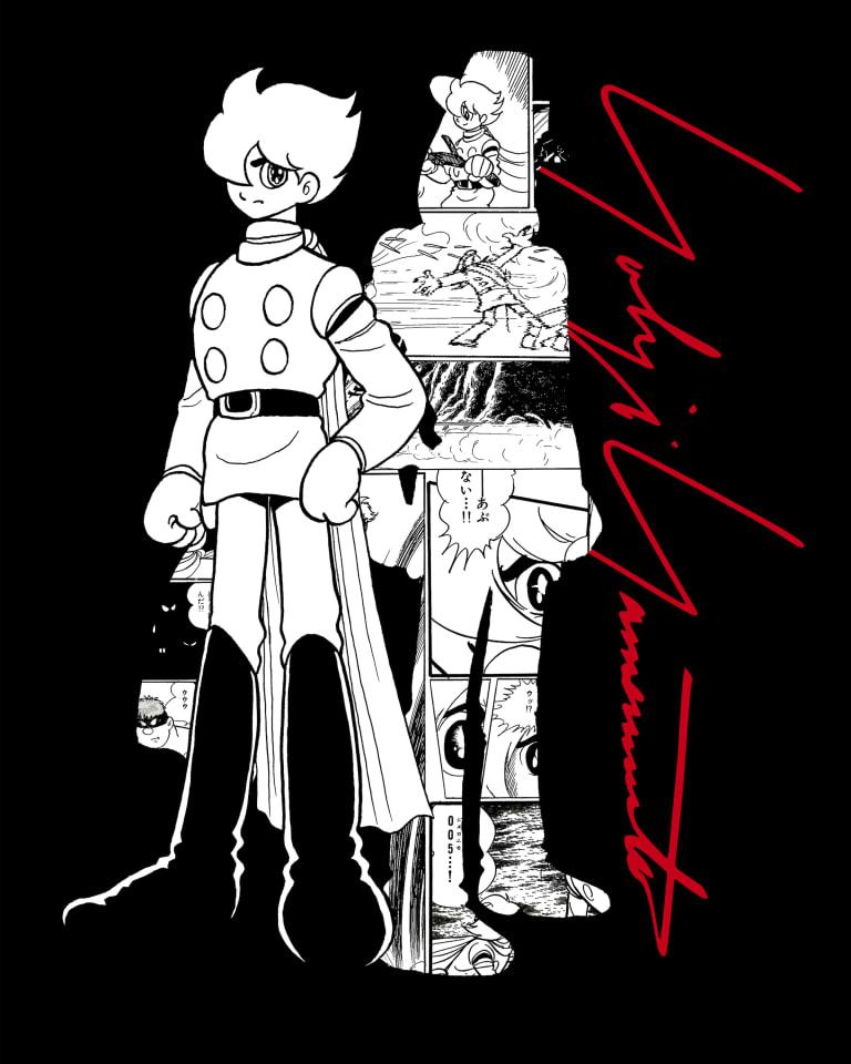"YOHJI YAMAMOTO x ""CYBORG 009"" Collaboration Series Vol.1"