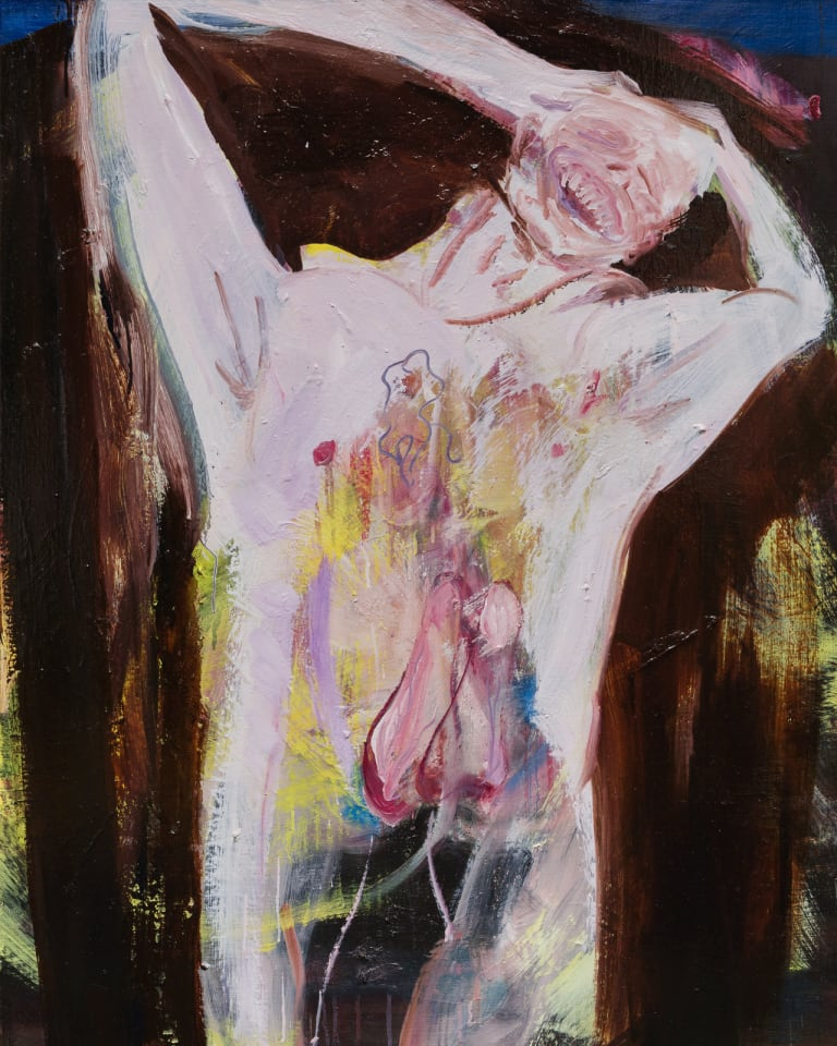 © Mariko Matsushita Oil on canvas 100 x 80.3 cm Courtesy of KEN NAKAHASHI© Mariko Matsushita Oil on canvas 100 x 80.3 cm Courtesy of KEN NAKAHASHI