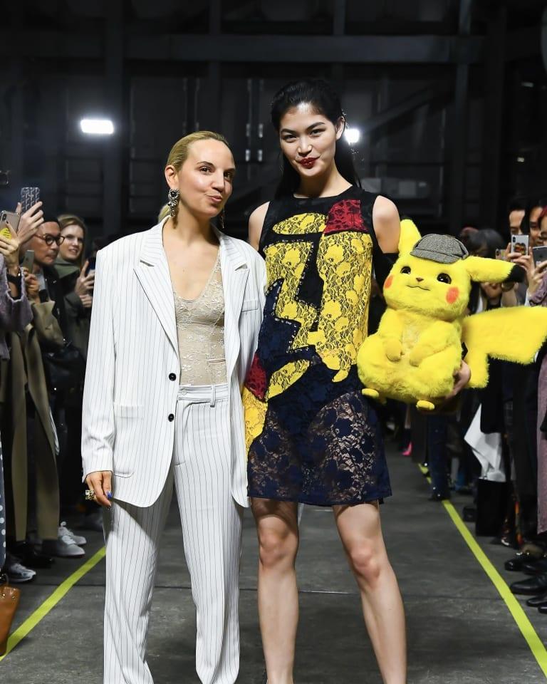 Amazon Fashion Week TOKYO 2019 A/Wで「コーシェ」が行ったショーの様子