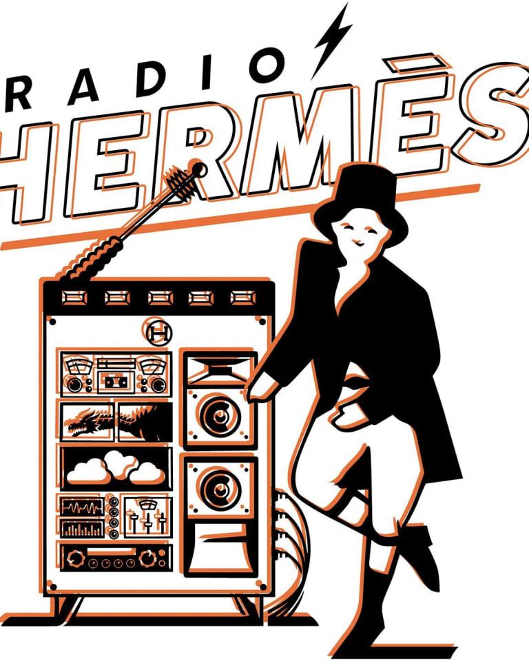 「ラジオエルメス」キーヴィジュアル