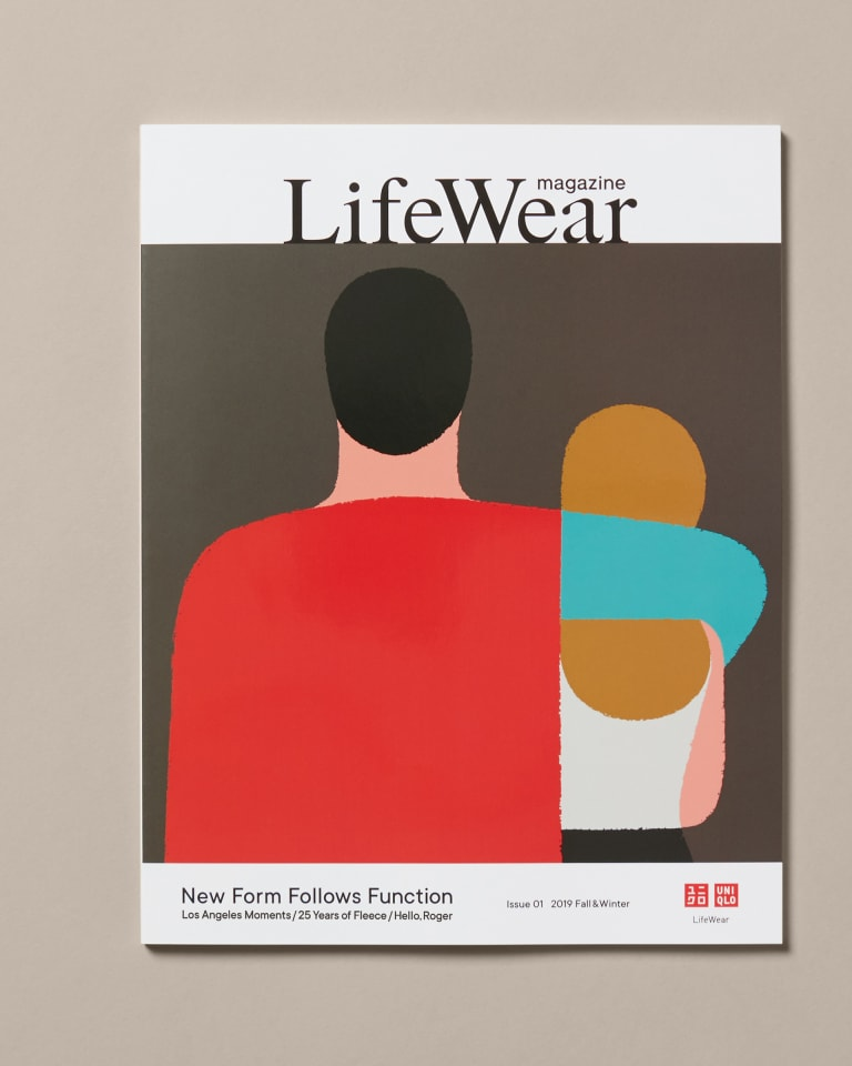 LifeWear magazine表紙