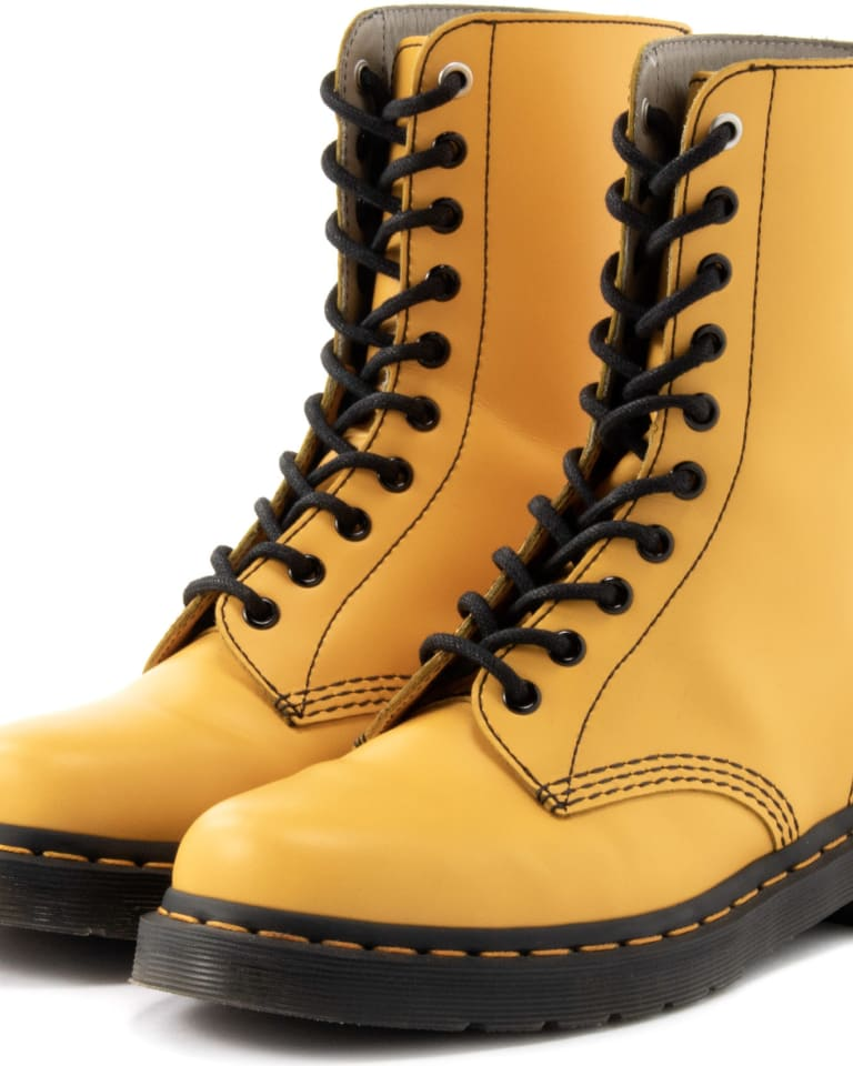 「Y's×Dr. Martens 10HOLE BOOT」イエロー