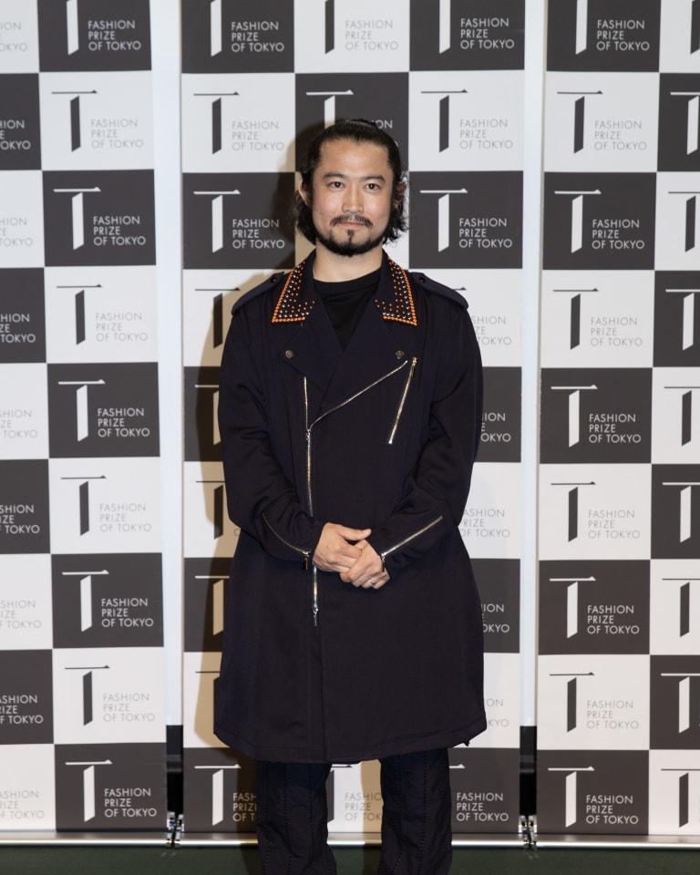 第3回「FASHION PRIZE OF TOKYO」を受賞したタークの森川拓野