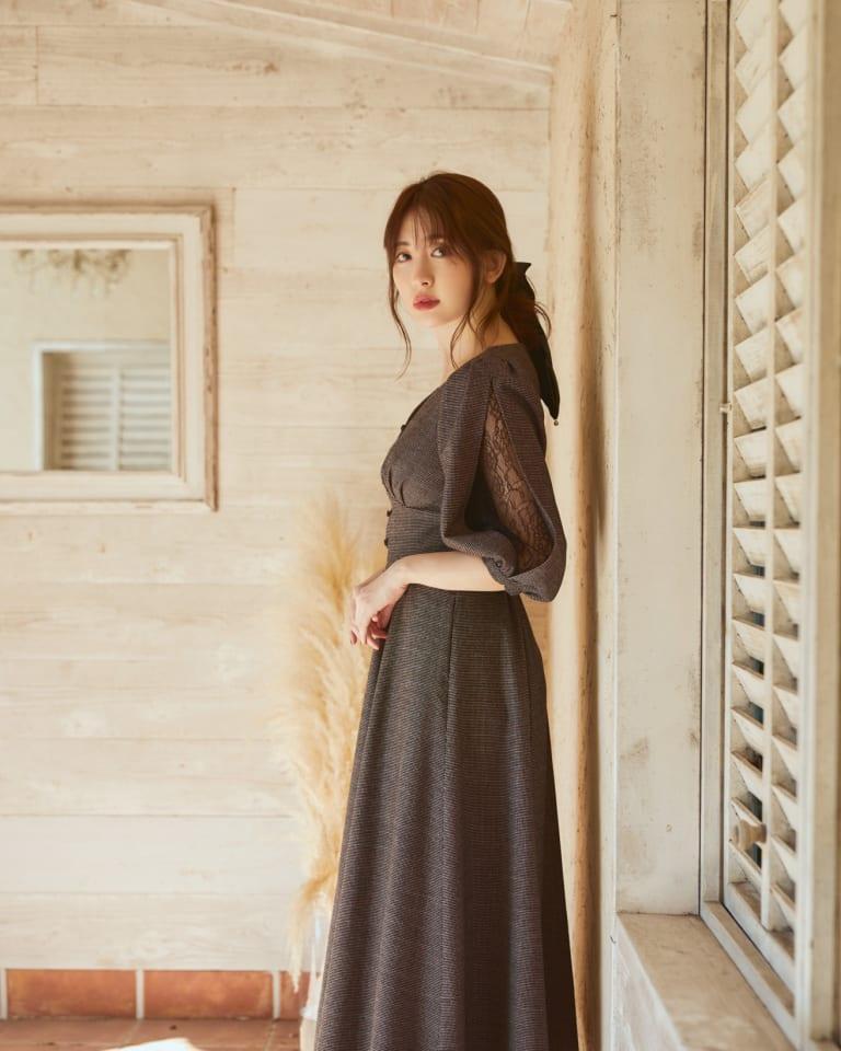 「Rakuten Fashion」限定で販売するワンピース