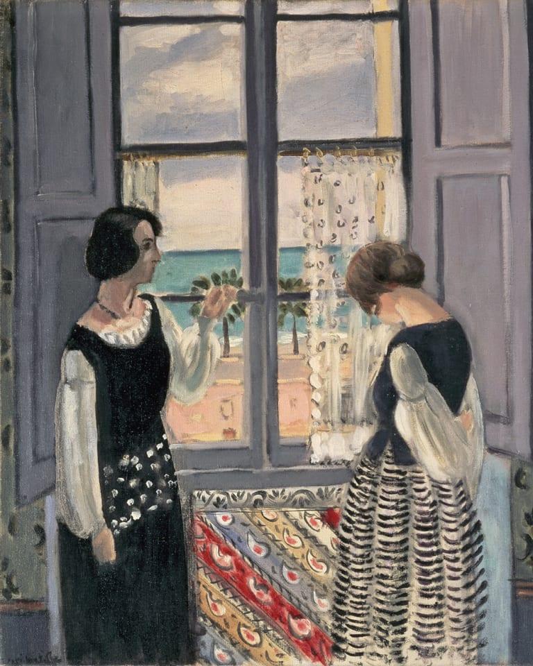 アンリ・マティス 《待つ》 1921-22年 油彩・キャンバス 61×50cm 愛知県美術館