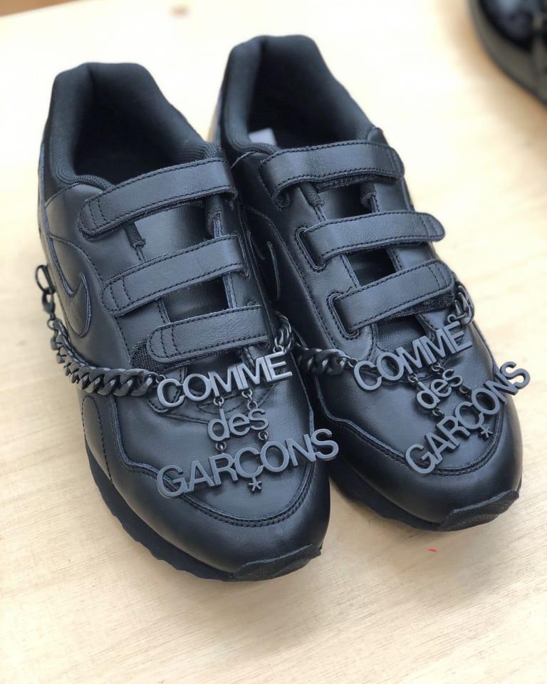 「Comme des Garçons x Nike Outburst」(パリで開催した2019-20年秋冬ウィメンズコレクションの展示会にて撮影)