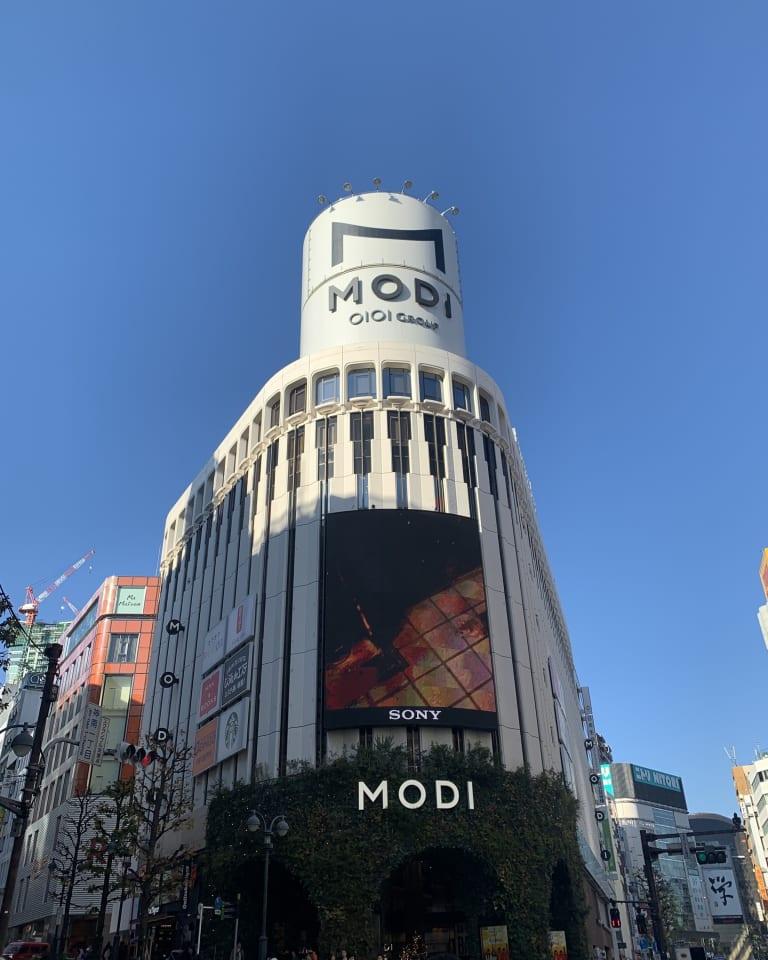 「渋谷モディ」外観