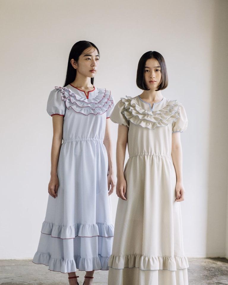 「梨凛花〜rinrinka〜」ラストコレクションの2020年春夏シーズンのルックより
